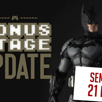Bonus Stage UPDATE [21 a 27/6]: Batman, PSN e Shenmue 3