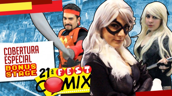 21ª Fest Comix atrai quadrinhos, palestras e cosplayers: assista a cobertura especial do Bonus Stage
