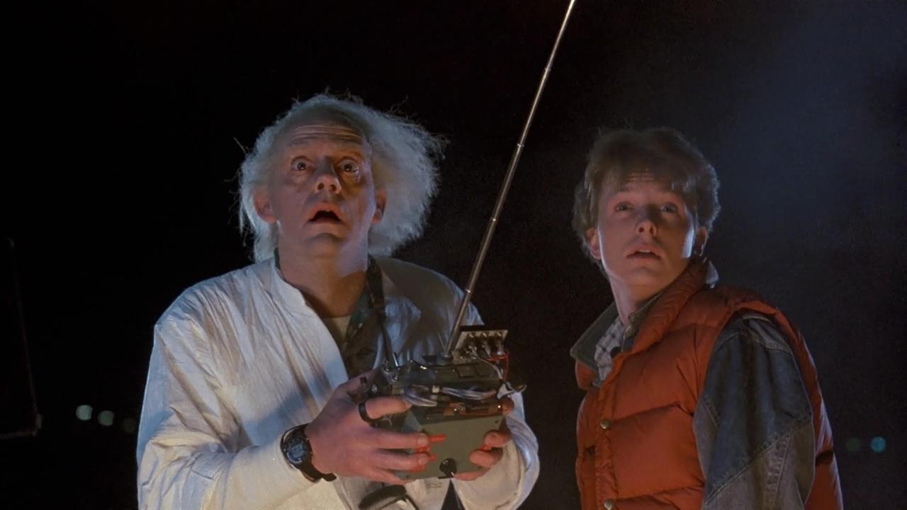 Doc e Marty McFly