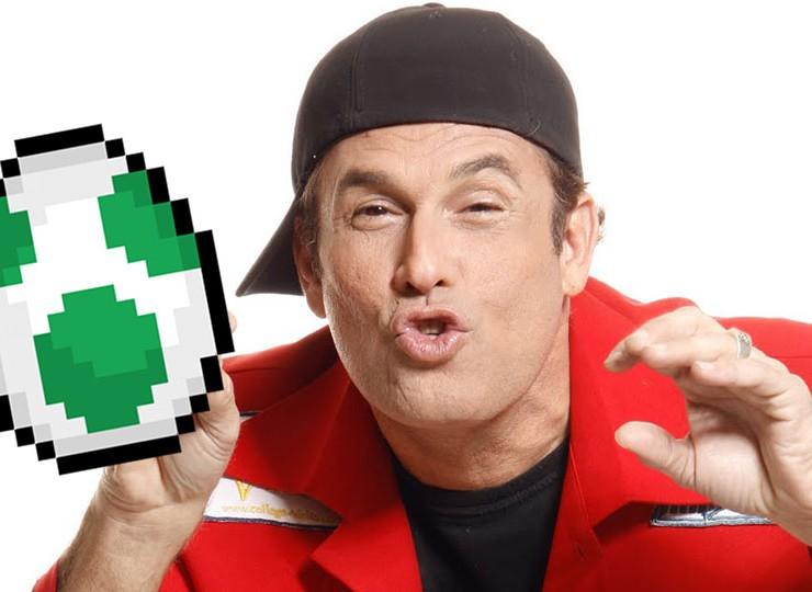 Sim, Sérgio Mallandro gravou um rap sobre ovo e videogames