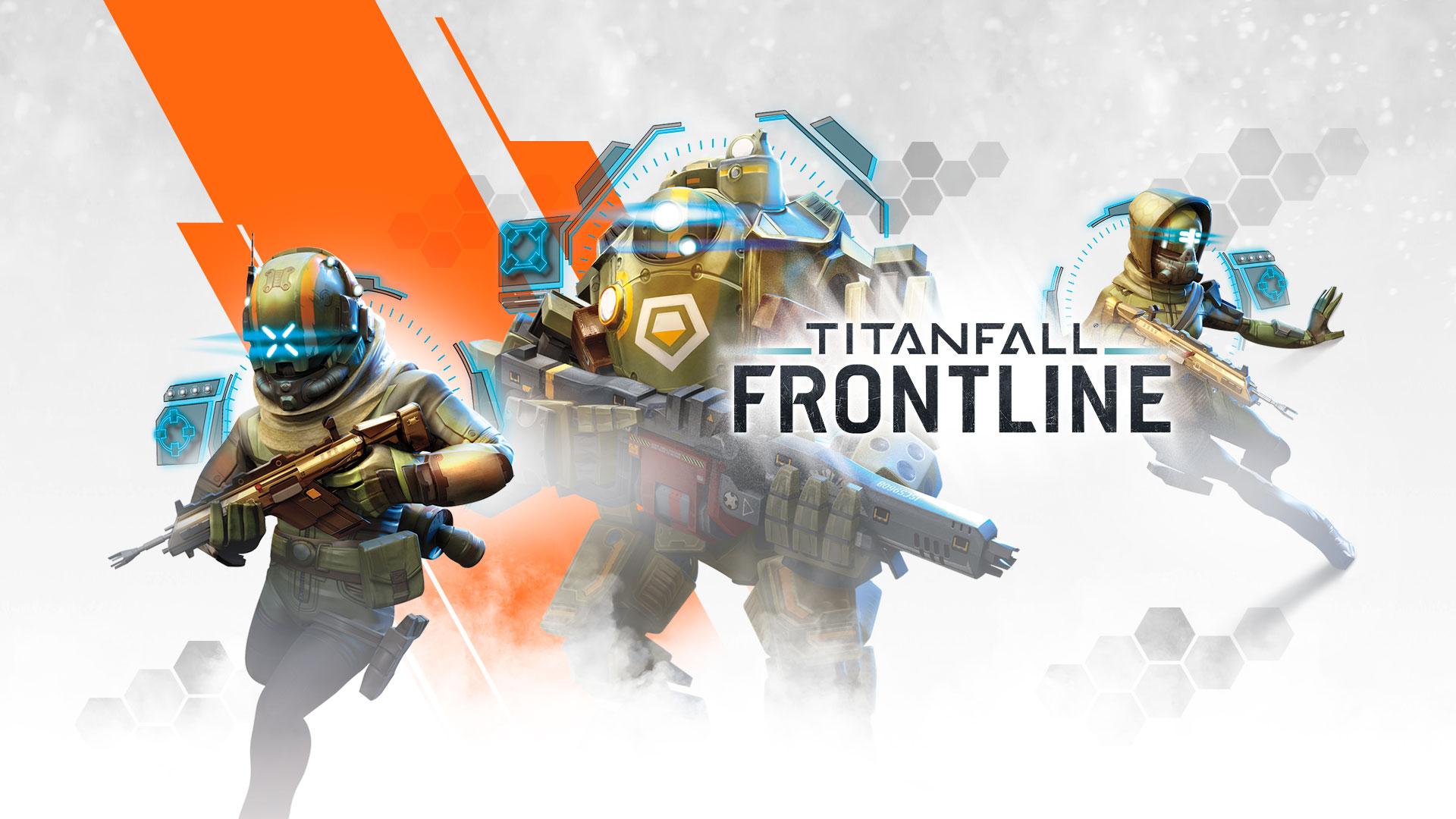 6830eb1194 Titanfall  Frontline coloca robôs para brigar na tela do seu smartphone